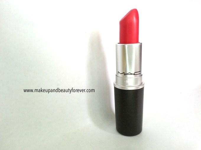 MAC Relentlessly Red Retro Matte Lipstick Review, Swatches, LOTD MAC