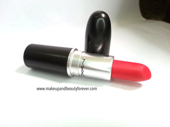 MAC Relentlessly Red Retro Matte Lipstick Review, Swatches, LOTD Mac cosmetics India