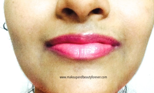 MUA Power Pout Colour Intense Tint and Balm Broken Hearted Review lip swatch