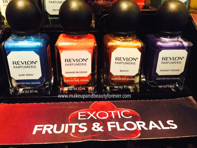 Revlon Parfumerie Scented Nail Enamel Shades, Price Details and Mini Review