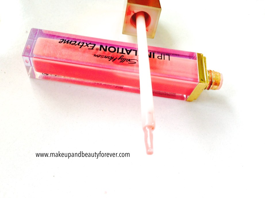 Sally Hansen Lip Inflation Extreme Sheer Pink Review India