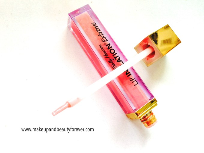 Sally Hansen Lip Inflation Extreme Sheer Pink Review MBF India