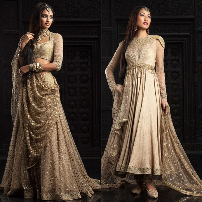 Tarun Tahiliani Bridal Lehenga Best collection White and Silver