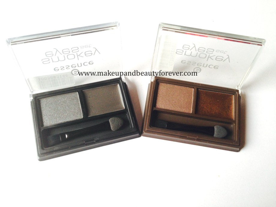 essence smokey eyes set both variants