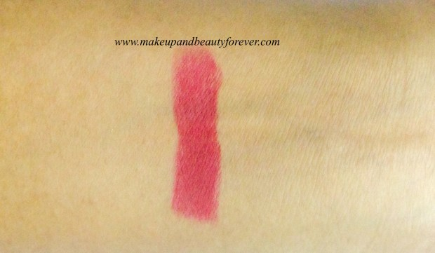 Colorbar Full Finish Long Wear Lipstick Get Ready 11 Review, Swatch, FOTD 2