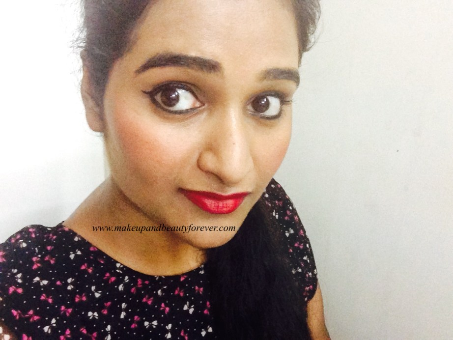 Colorbar Full Finish Long Wear Lipstick Get Ready 11 Review, Swatch, FOTD Astha MBF