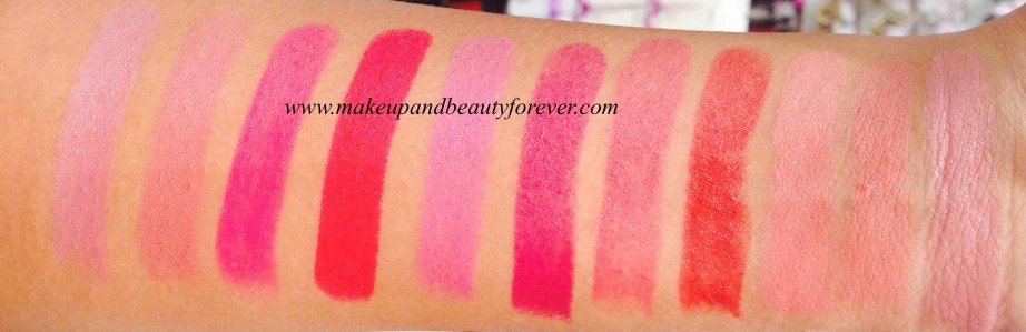 Lakme 9 to 5 Crease less Lipstick Pink Pursuit Lakme 9 to 5 Crease less Lipstick Salmon Slate Lakme 9 to 5 Crease less Lipstick Candy Commission Lakme 9 to 5 Crease less Lipstick Fuschia Field Lakme 9 to 5 Crease less Lipstick Coral Craft