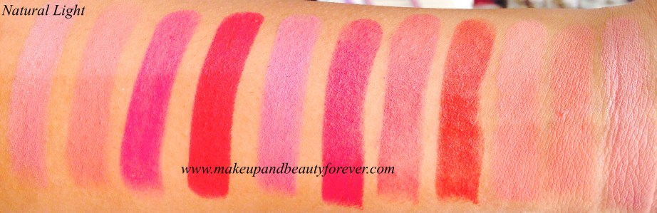 Lakme 9 to 5 Crease less Lipstick Ruby Result Lakme 9 to 5 Crease less Lipstick Crimson Call Lakme 9 to 5 Crease less Lipstick Rosy Review Lakme 9 to 5 Crease less Lipstick Pink Charge Lakme 9 to 5 Crease less Lipstick Coral Case