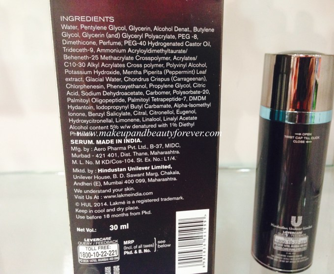 Lakme Absolute Skin Gloss Refection Serum Review Price, Swatch
