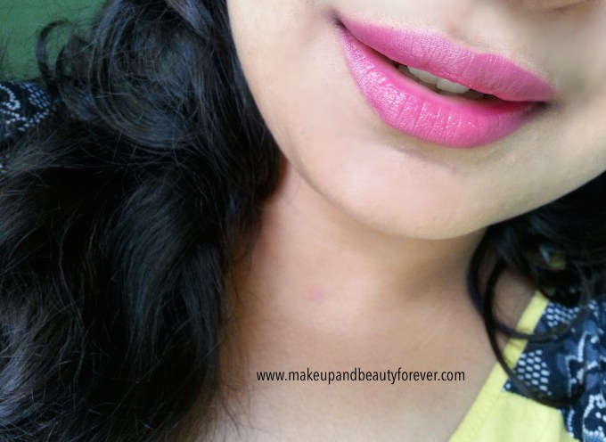 MAC Girl About Town Lipstick Review, Swatch, LOTD Aditi