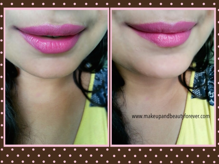 MAC Girl About Town Lipstick Review Swatches LOTD