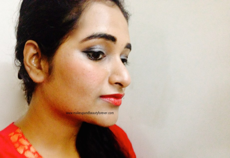 Maybelline ColorShow Lipstick Red My Lips 202 Review, Swatch, Price, FOTD India