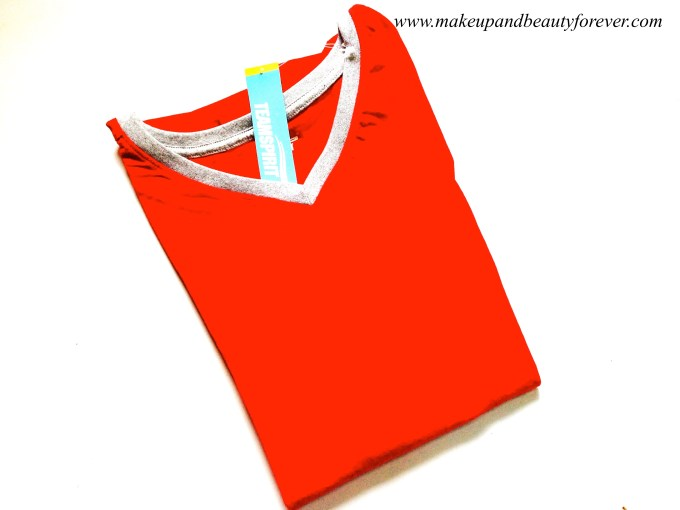 Casual Red Top MBF