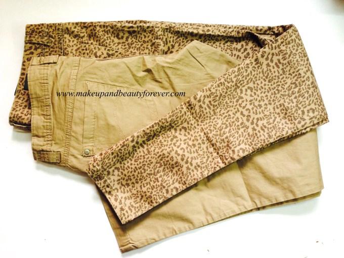 Leopard print jeans MBF