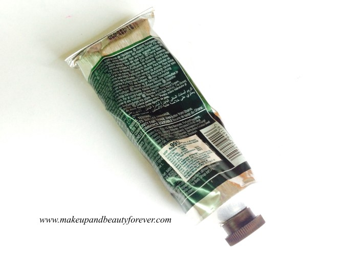 The Body Shop Absinthe Purifying Hand Cream Review MBF