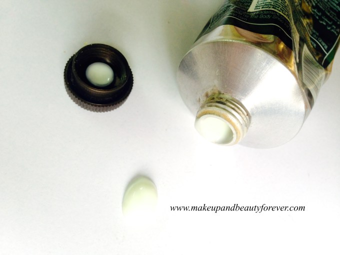 The Body Shop Absinthe Purifying Hand Cream Review Swatch