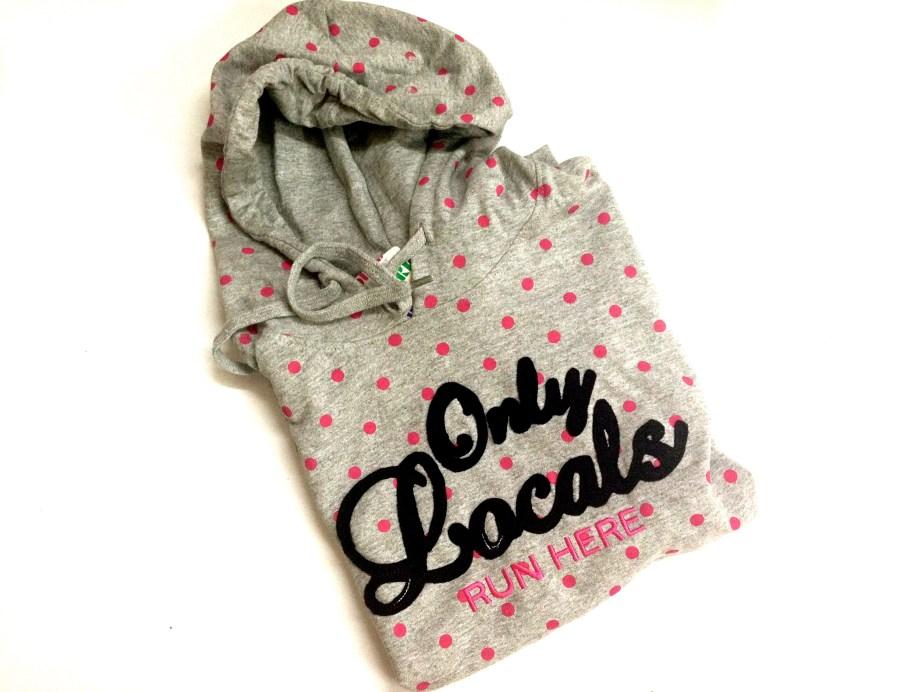 Pink Polka dots hoodie