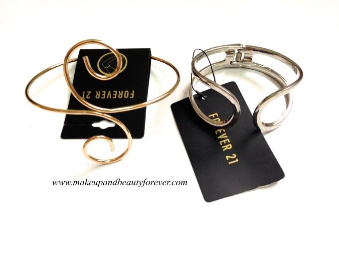 Forever 21 armlet bracelet