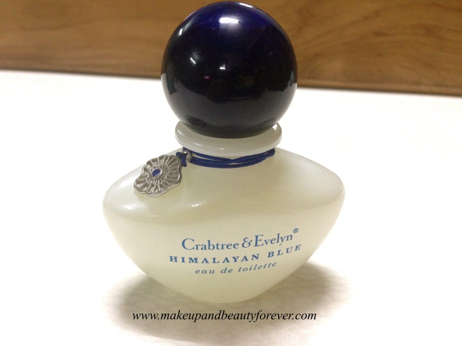Crabtree & Evelyn Himalayan Blue Eau De Toilette Review in India