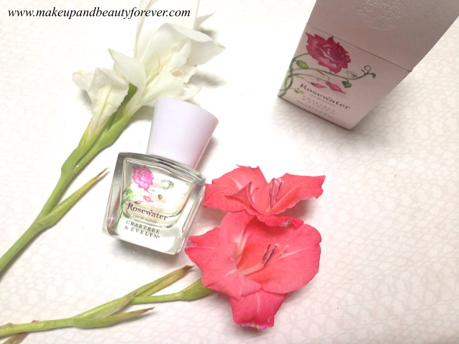 Crabtree & Evelyn Rosewater Eau de Toilette Perfume Review 5