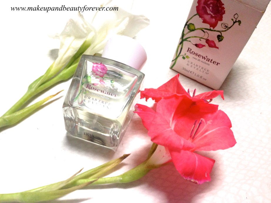 Crabtree & Evelyn Rosewater Eau de Toilette Perfume Review 8