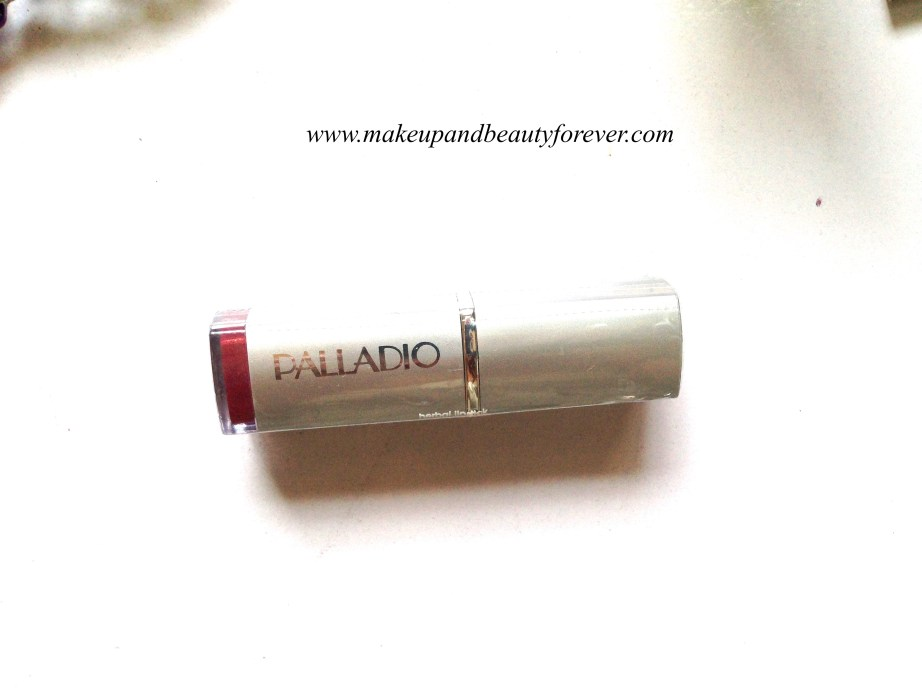 Palladio Herbal Lipstick rose plum shade India