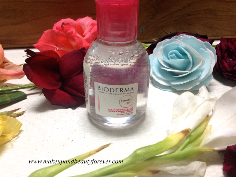 Bioderma Sensible H2O Micelle Solution sensitive skin Review