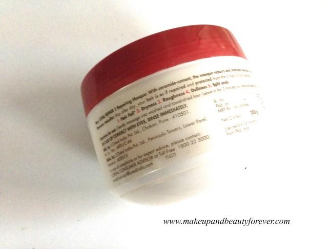 L'Oreal Paris Total Repair 5 Hair Masque Review 1