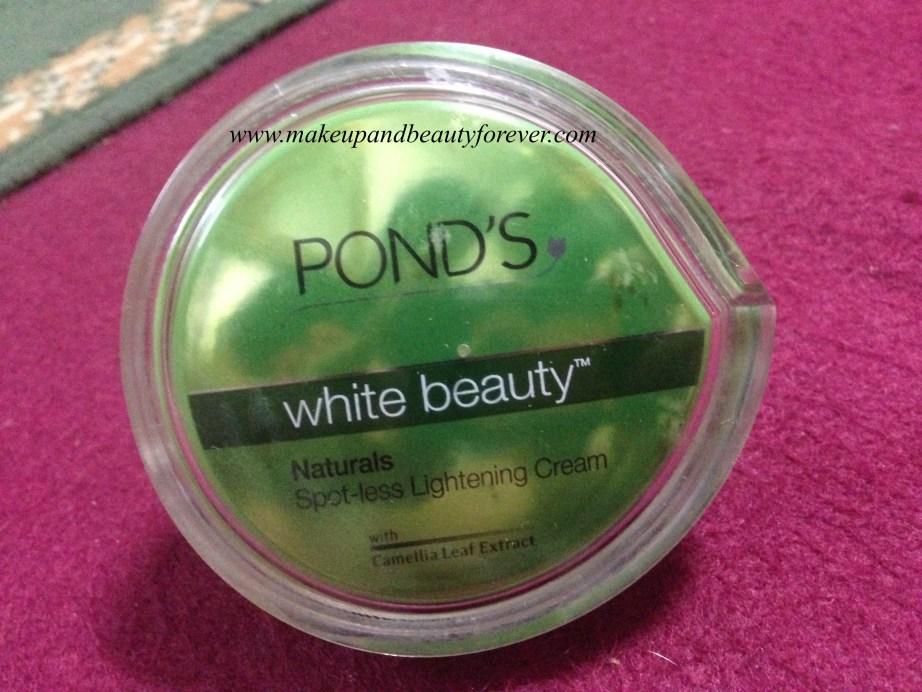 Pond's White Beauty Naturals Spot-Less Lightening Cream Review