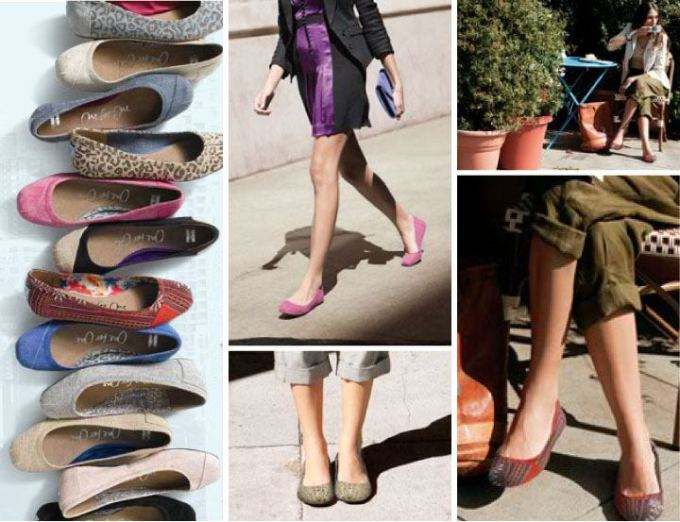 Style Fashion Ballet Shoes Ballerinas