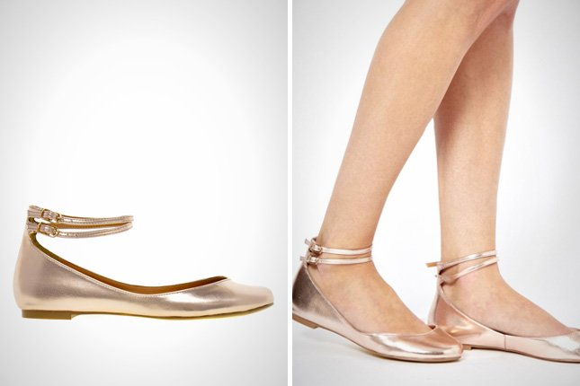 Stylish Elegant ballerinas ballet that add to your style India golden