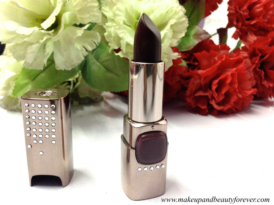 Aishwarya Rai Cannes 2015 Elie Saab L'oreal Paris Color Riche Moist Matte Limited Edition Swarovski Lipstick PM412 Arabian Nights