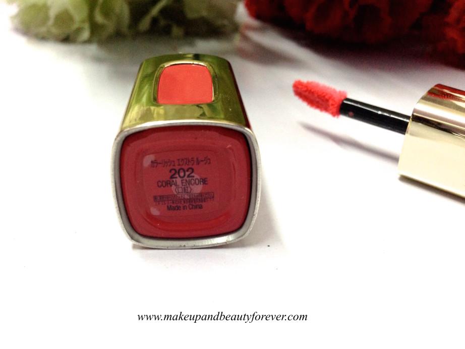 L'Oreal Paris Colour Riche Extraordinaire Liquid Lipstick 202 Coral Encore