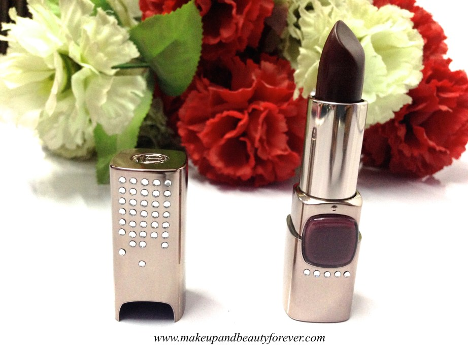 L'oreal Paris Color Riche Moist Matte Limited Edition Swarovski Lipstick PM412 Arabian Nights Aishwarya Rai Cannes 2015 makeup