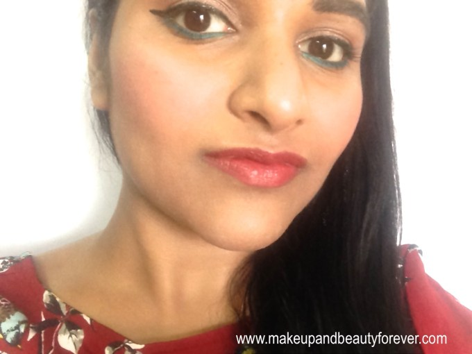 Lotus Herbals Ecostay Long Lasting Lip Colour Rose Mary 408 Review pretty