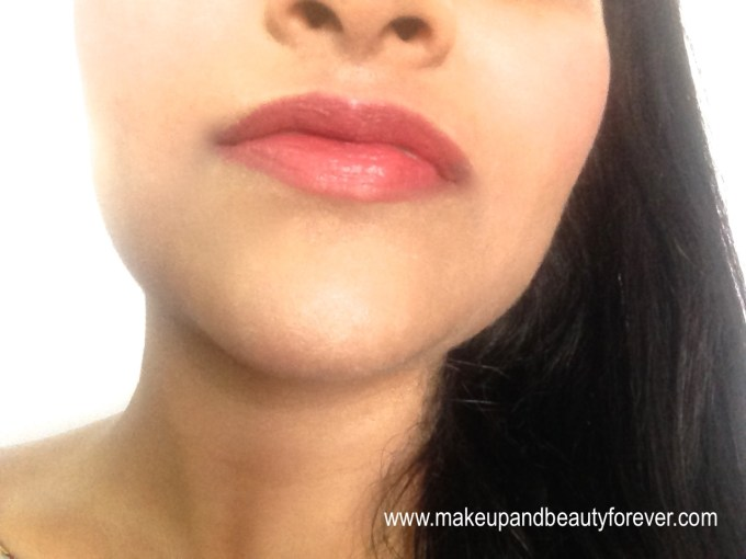 Lotus Herbals Ecostay Long Lasting Lip Colour Rose Mary 408 Review swatches