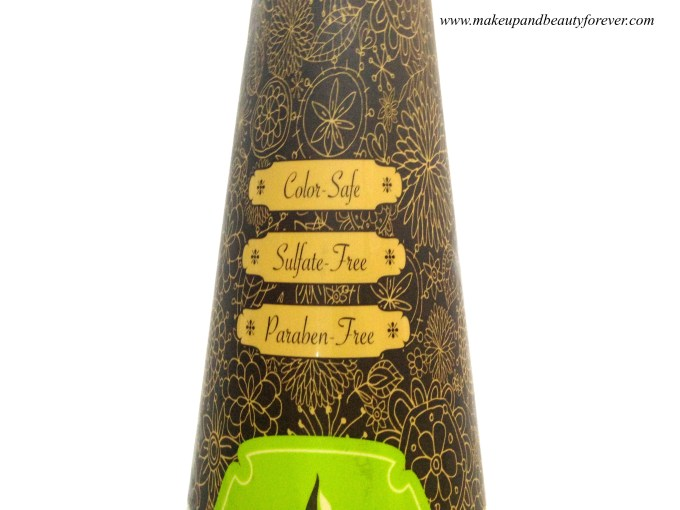 Macadamia Natural Oil Rejuvenating Shampoo Review sulphate paraben free for colour hair