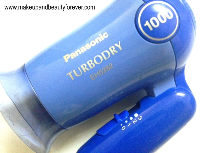 Panasonic Turbodry EH5282 Hair Dryer Review 5