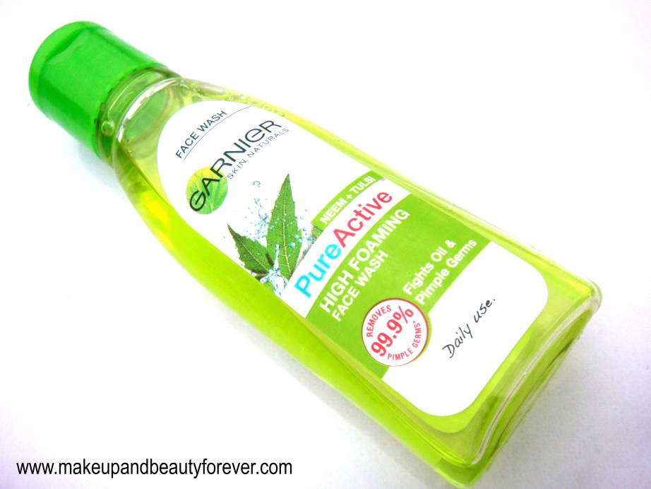 Garnier Neem Tulsi High Foaming Face Wash Review