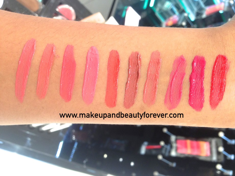 All Colorbar Deep Matte Lip Crème Review Shades Swatches Deep Pink 008 Deep Blush 009 Deep Peach 010 Rouge