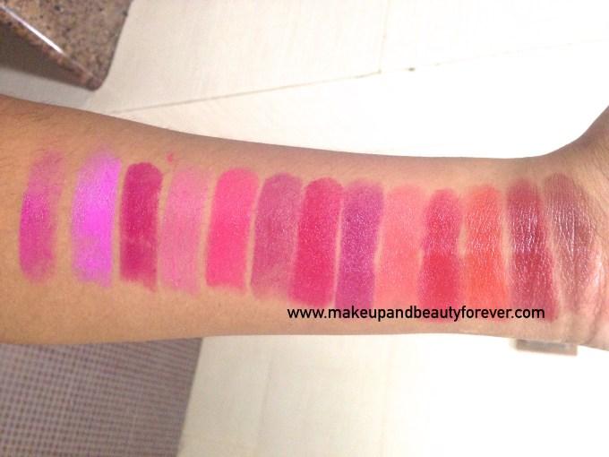 All Revlon Ultra HD Lipstick Review Shades Swatches Azalea Sweet Pea Petunia Hydrangea Rose Primrose Poinsettia Iris Geranium Gladiolus Marigold Dahlia Snapdragon Astha MBF
