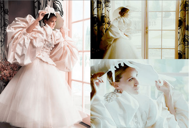 Carrie Bradshaw's Wedding Dress by Dior Vogue