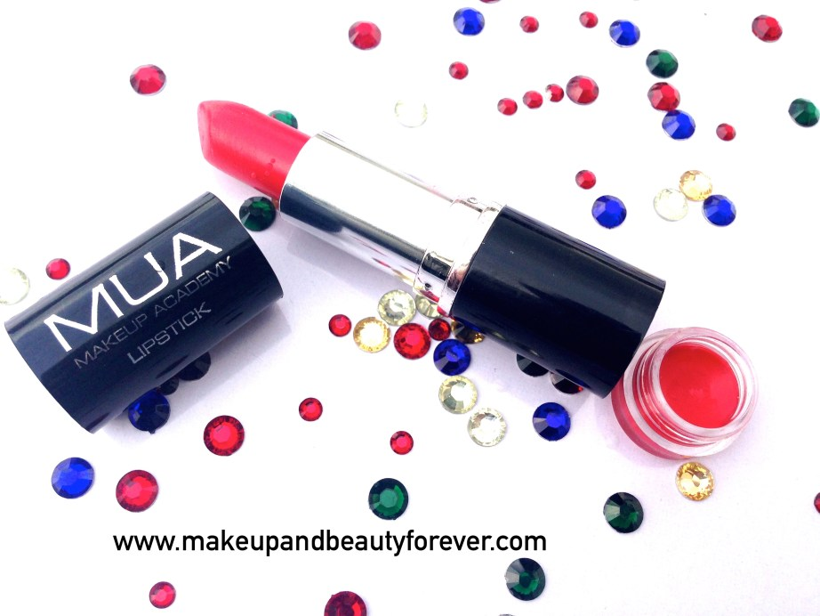 MUA Makeup Academy Lipstick Shade 13 Review