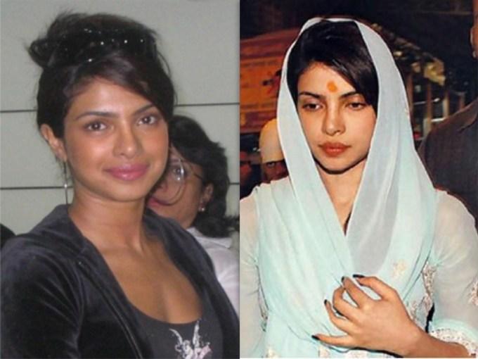 Priyanka Chopra without no makeup 1
