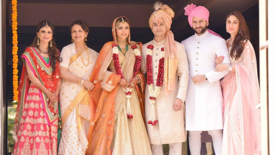 All about Soha Ali Khan and Kunal Khemu Royal Wedding at Khar Mumbai