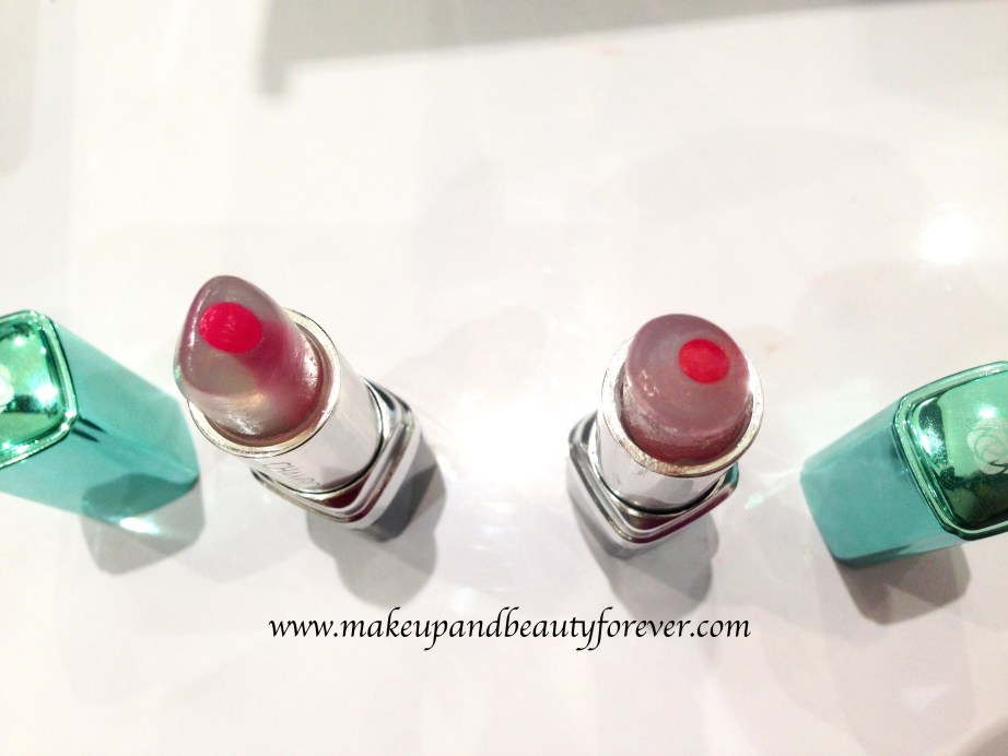 Chambor Happy Hues Moisture Plus Lipstick Ocean Roses Ice Berries Review Shades Swatches Price