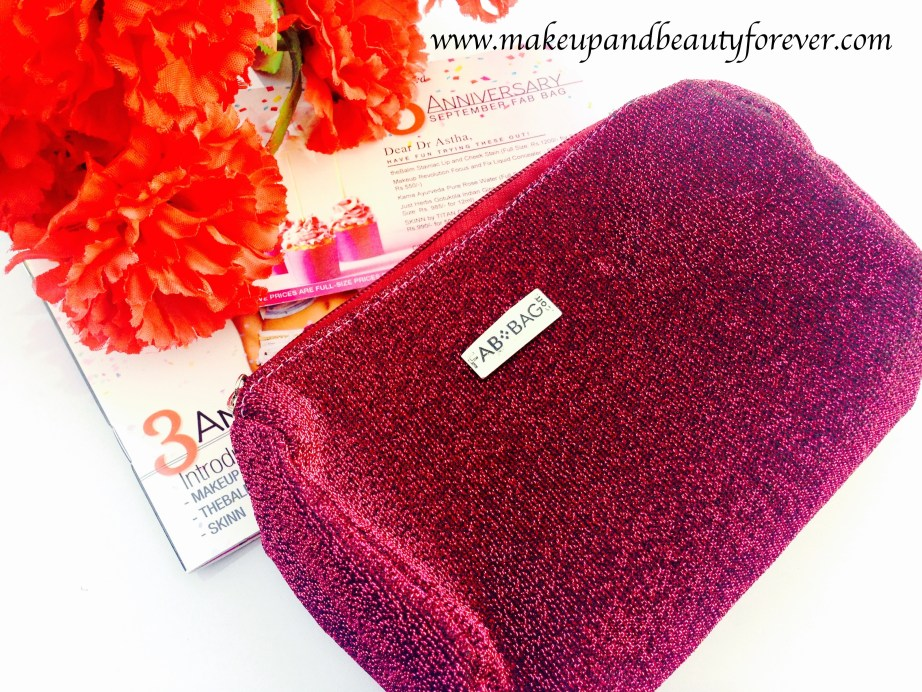 FabBag September 2015 3rd Anniversary Special