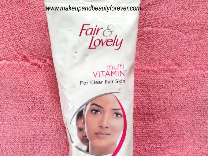Fair and Lovely Multi Vitamin Fairness Cream Review 2