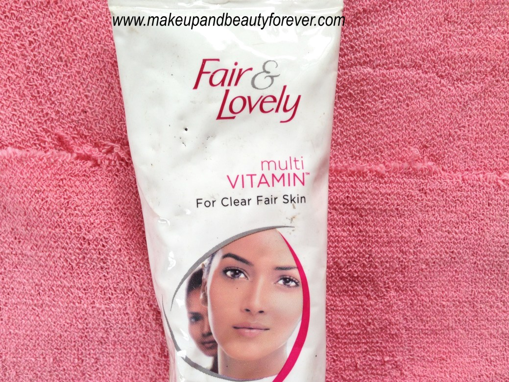 Fair And Lovely Multi Vitamin Fairness Cream Review Facial Foam 2