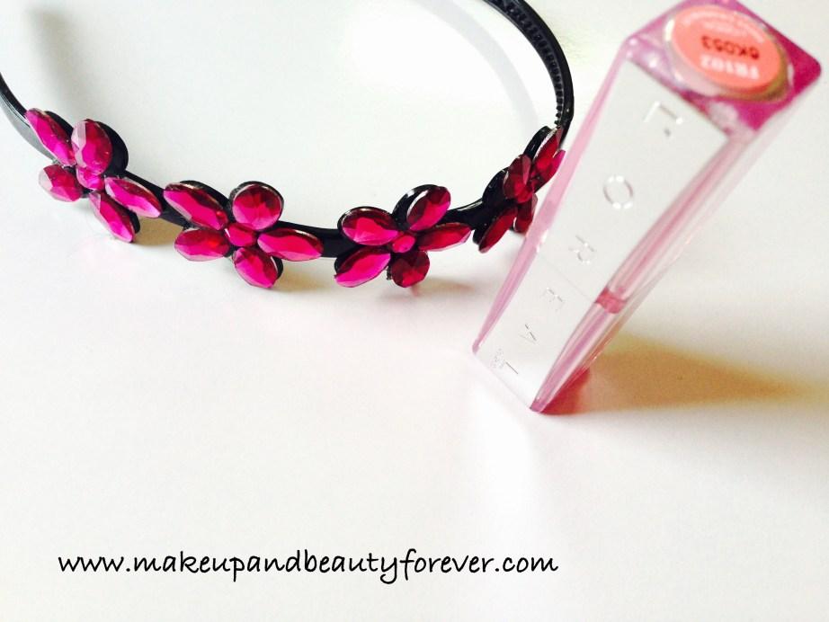 LOreal Paris Colour Riche Nutri Shine Lipstick 102 Shiny Grape fruit Review Indian Makeup and Beauty Blog